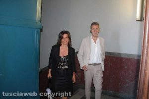 Laura Allegrini e Claudio Ubertini