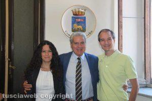 Antonella Sberna, Giovanni Arena ed Elpidio Micci