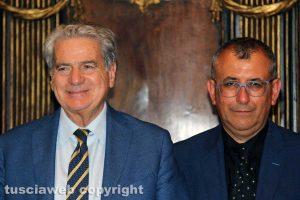 Viterbo - Il sindaco Giovanni Arena e il vice Enrico Maria Contardo