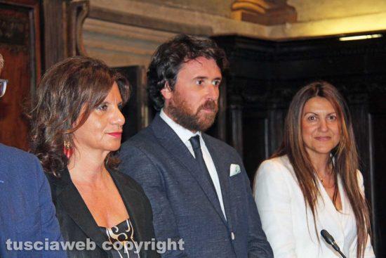 Laura Allegrini, Marco De Carolis e Alessia Mancini