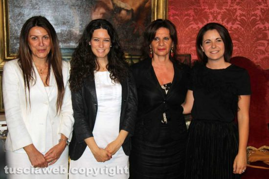 Alessia Mancini, Antonella Sberna, Laura Allegrini e Claudia Nunzi
