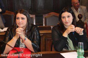 Luisa Ciambella e Martina Minchella