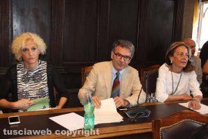 Viterbo - Consiglio comunale - Lina Delle Monache, Francesco Serra e Patrizia Frittelli