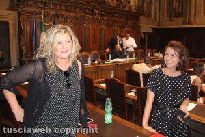 Ombretta Perlorca e Claudia Nunzi