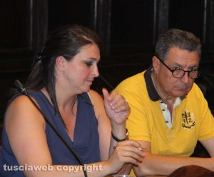 Luisa Ciambella e Giulio Marini
