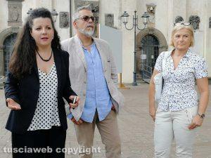 Chiara Frontini, Alfonso Antoniozzi e Letizia Chiatti,