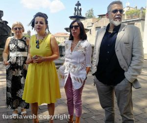 Chiara Frontini, Patrizia Notaristefano e Alfonso Antoniozzi