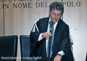 Il giudice Marco Mancinetti