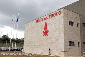 Viterbo - La nuova caserma dei vigili del fuoco