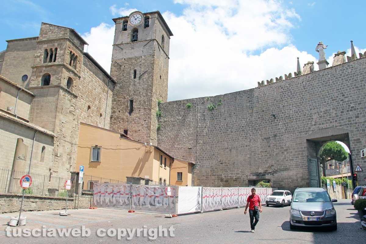 Verso santa rosa aperto il cantiere a porta romana tusciaweb.eu