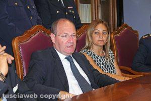 Viterbo - Il procuratore Paolo Auriemma e la pm Chiara Capezzuto