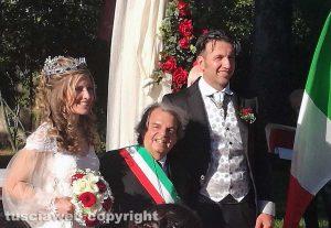 Vetralla - Renato Brunetta celebra matrimonio