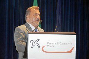 Enrico Panunzi al 18esimo Rapporto dell'economia della Tuscia viterbese