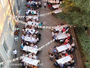 Viterbo - La festa della parrocchia San Pietro