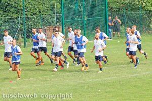 Sport - Calcio - Viterbese - Il primo allenamento della stagione