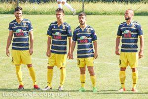Sport - Calcio - Viterbese - Da sinistra: De Vito, Damiani, Cenciarelli e Roberti