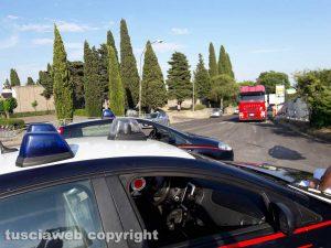 Montefiascone - Autoarticolato in panne sulla Cassia Nord