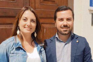 Montalto di Castro - Gli assessori Silvia Nardi e Giovanni Corona