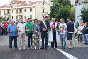 Bassano in Teverina - L'inaugurazione del nuovo marciapiede