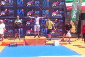 Sport - Ciclismo - Il gruppo ciclistico di Canino a Provaglio d'Iseo