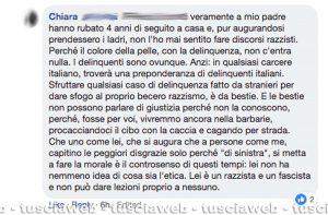 Tarquinia - I commenti al post della proprietaria di un negozio sul suo bagno danneggiato
