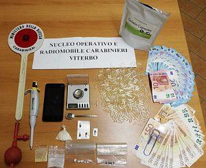 Viterbo - Carabinieri - Norm - Laboratorio di metanfetamine in casa