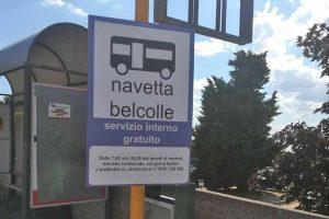 Viterbo - Il servizio gratuito di bus navetta a Belcolle