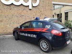Montefiascone - I carabinieri sul posto