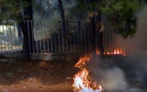 Incendi vicino Atene