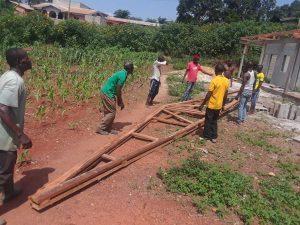 Camerun - I lavori alla scuola primaria Saint Jean