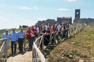 Celleno - La procura di Viterbo alla scoperta del borgo fantasma