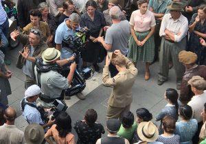 Sutri - Le riprese di Catch 22 con George Clooney