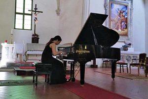 Il pianista Valerio Premuroso al Beethoven festival di Sutri