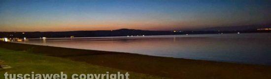 Capodimonte - Tramonto sul lago