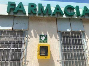 Montalto - Defibrillatore fuori la farmacia comunale