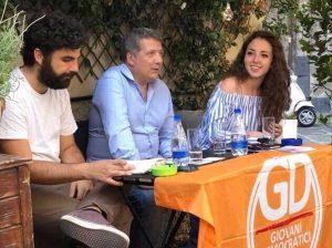 Viterbo - L'incontro dei Giovani democratici