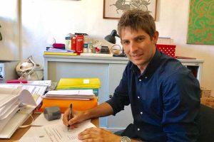 Tarquinia - L'assessore Manuel Catini