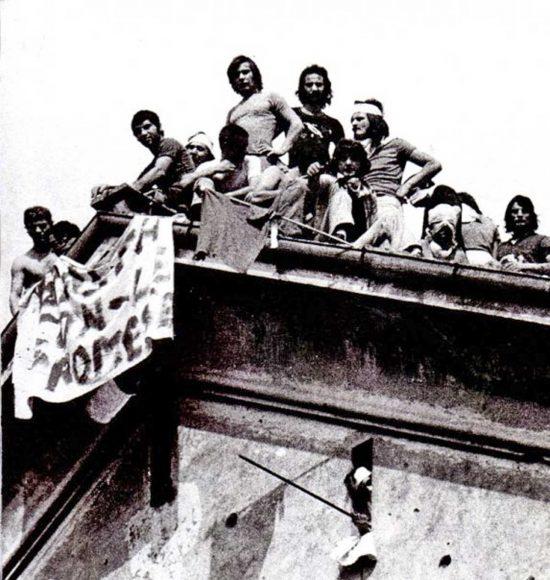 Una sommossa carceraria degli anni '70