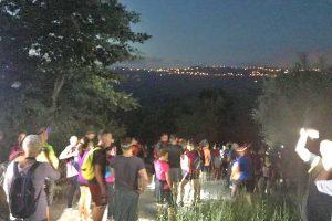 Montefiascone - la camminata solidale in notturna