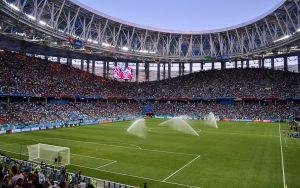 Lo stadio di Novgorod