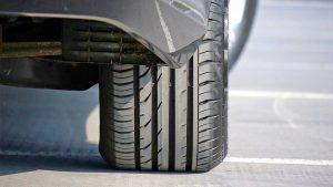 Lo pneumatico di un'auto