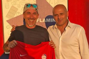 Sport - Calcio - Flaminia - Il fisioterapista Fabio Zara