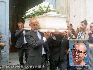 Ronciglione - I funerali di Alessandro Moretti