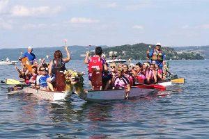 Sport - Dragon boat - La regata di Marta