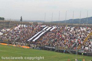 Sport - Calcio - La curva dei tifosi dell'Ascoli