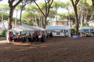 Tarquinia - L'area eventi della pineta Avad al lido