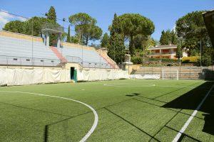 Sutri - Il campo da calcio della Colle Diana asd