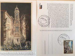 Cartolina santa Rosa centenario