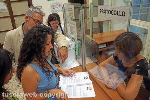 Viterbo - Il gruppo di Chiara Frontini consegna la sua proposta per la città