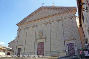 Viterbo - La Basilica di Santa Rosa
